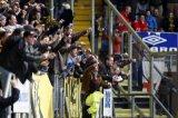 NAC Breda supporters op de B-side. Foto: Maurice van Steen Foto: Maurice van Steen