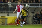 (L-R) Daley Blind of Ajax, Elson Hooi of NAC Breda