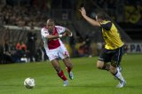 (L-R) Ryan Babel of Ajax, Kenny van der Weg of NAC Breda