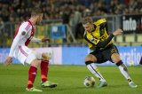 (L-R) Toby Alderweireld of Ajax, Rick ten Voorde of NAC Breda