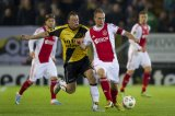 (L-R) Kenny van der Weg of NAC Breda, Siem de Jong of Ajax