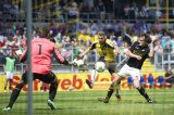 (L-R) goalkeeper Filip Kurto of Roda JC, Rick ten Voorde of NAC Breda, Rob Wielaert of Roda JC