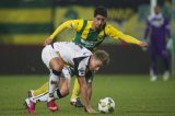 (L-R) Christian Supusepa of ADO Den Haag, Rick ten Voorde of NAC Breda