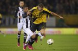 (L-R) Lerin Duarte of Heracles Almelo, Rick ten Voorde of NAC Breda