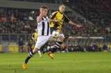 (L-R) Ben Rienstra of Heracles Almelo, Anthony Lurling of NAC Breda