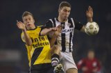 (L-R) Rick ten Voorde of NAC Breda, Bart Schenkeveld of Heracles Almelo