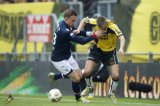 (L-R) Tim Cornelisse of Willem II, Danny Verbeek of NAC Breda