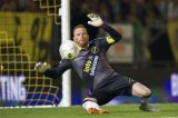 goalkeeper Jelle ten Rouwelaar of NAC Breda