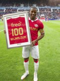 Georginio Wijnaldum of PSV  100th game of PSV