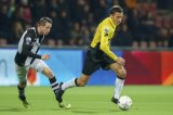 (L-R) Marc Uth of Heracles Almelo, Uros Matic of NAC Breda
