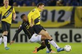 (L-R) Roly Bonevacia of Roda JC, Uros Matic of NAC Breda