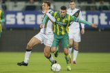 (L-R) Uros Matic of NAC Breda, Danny Holla of ADO Den Haag