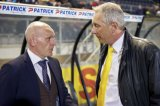 (L-R) coach Jan Wouters of FC Utrecht, technical director Graeme Rutjes of NAC Breda